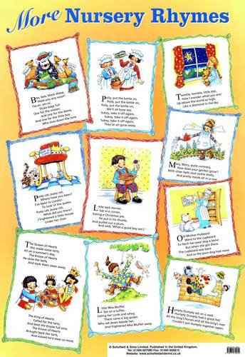 9780721755649: More Nursery Rhymes (Laminated Poster) (Laminated posters)
