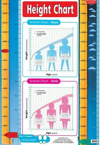 9780721755809: Height Chart (Laminated Poster) (Laminated posters)