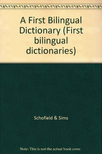 9780721795003: A First Bilingual Dictionary (First bilingual dictionaries) (English and Bengali Edition)