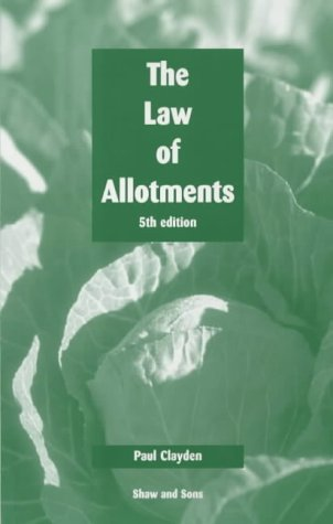 9780721901435: Law of Allotments