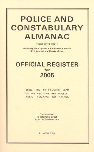 9780721916606: Police and Constabulary Almanac 2005 (Police & Constabulary Almanac)