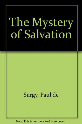 9780722000946: The Mystery of Salvation