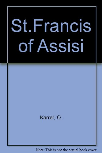 9780722002117: St.Francis of Assisi