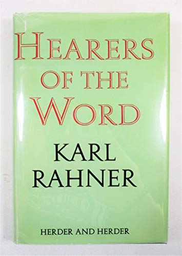 9780722005804: Hearers of the Word