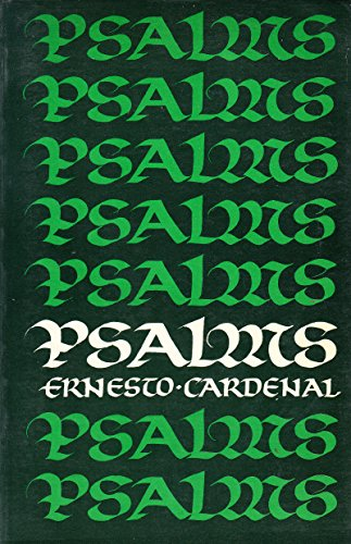 Psalms (0722070160) by Cardenal, Ernesto; Blackburn, Thomas