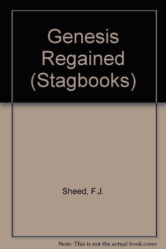 9780722074176: Genesis Regained (Stagbooks)
