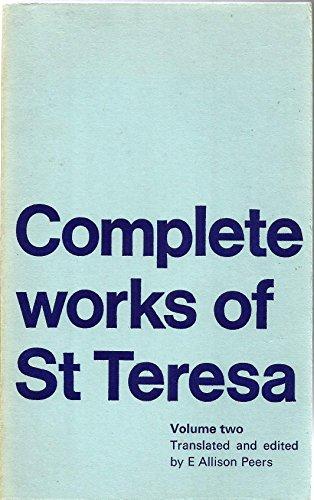 Complete Works: v. 2 (Classics of Spiritual Writing) (0722075499) by St.Teresa of Avila