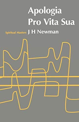 9780722079034: Apologia Pro Vita Sua (Spiritual Masters)