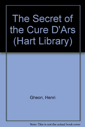 9780722079386: The Secret of the Cure D'Ars (Hart Library)
