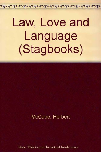 9780722079584: Law, Love and Language (Stagbooks)