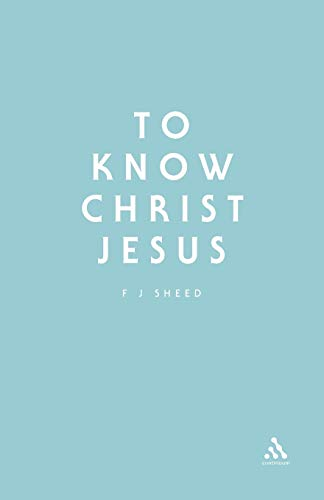 9780722091166: To Know Christ Jesus (Stagbooks S)
