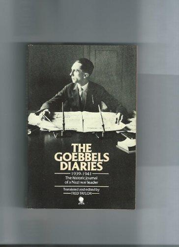 9780722105818: The Goebbels diaries 1939-1941