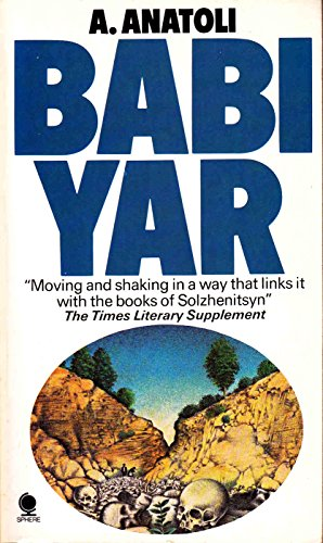 9780722111406: Babi Yar: A document in the form of a novel