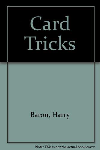 9780722114681: Card Tricks
