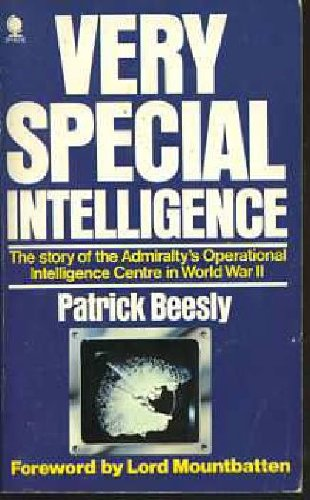 9780722115398: Very Special Intelligence: Admiralty's Operational Intelligence Centre, 1939-45