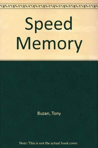 9780722121207: Speed Memory