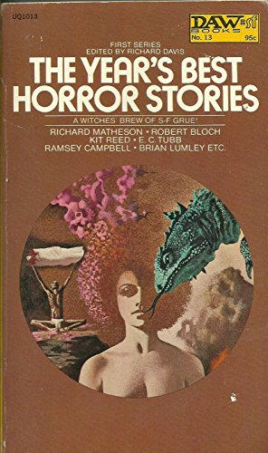 9780722128596: Year's Best Horror Stories: No. 1