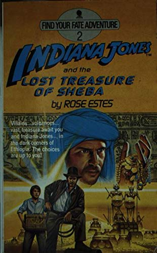 9780722133569: Indiana Jones and the Lost Treasure of Sheba