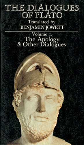 9780722143261: Dialogues of Plato: The Apology and Other Dialogues v. 1