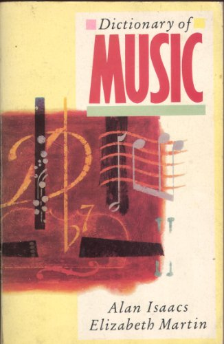 9780722149362: Dictionary of Music