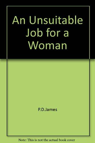 9780722149638: An Unsuitable Job for a Woman