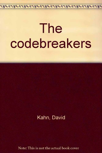 9780722151495: The codebreakers [Taschenbuch] by Kahn, David