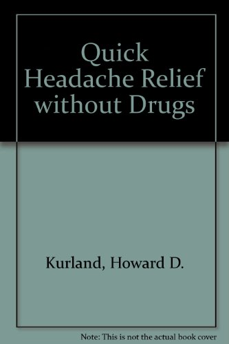 9780722153383: Quick Headache Relief Without Drugs