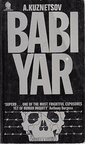 9780722153390: Babi-Yar