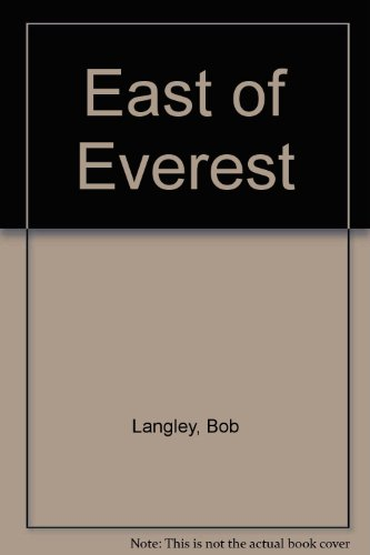9780722154007: East of Everest
