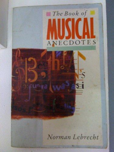 9780722155387: The Book of Musical Anecdotes