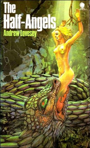 The Half-Angels: Lovesey, Andrew (cover