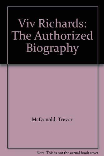 9780722157275: Viv Richards: The Authorized Biography