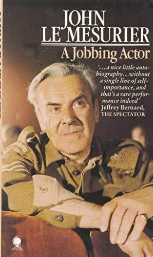 9780722160329: A Jobbing Actor
