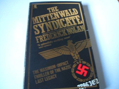 9780722164273: Mittenwald Syndicate
