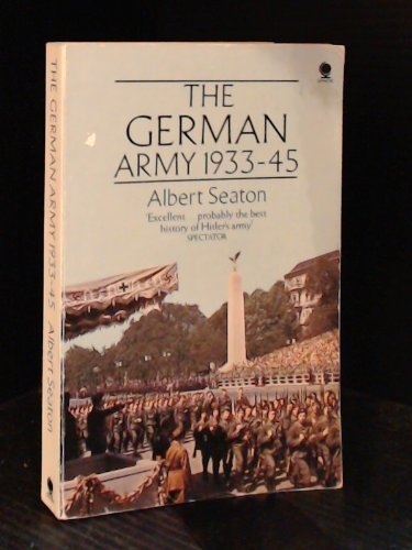 9780722176993: The German Army