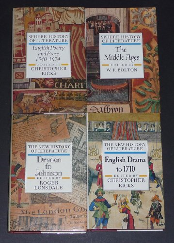 9780722179697: Sphere History of Literature: The Middle Ages v. 1