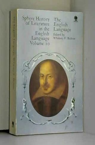 Vol 10: The English Language (History of Literature in the English Language): Bolton, W.F.