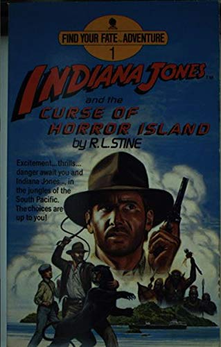 9780722181959: Indiana Jones and the Curse of Horror Island (Find Your Fate Adventure)