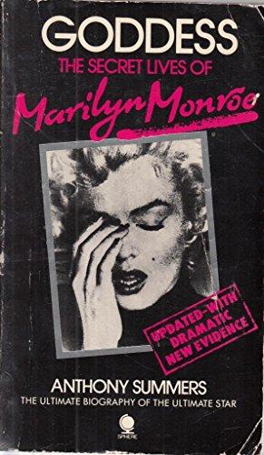 9780722182840: Goddess:Marilyn Monroe: Secret Lives of Marilyn Monroe