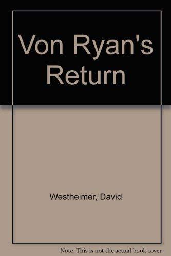 9780722190135: Von Ryan's Return