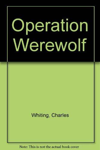 9780722190883: Operation Werewolf