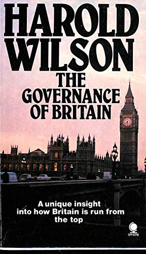 9780722192122: Governance of Britain