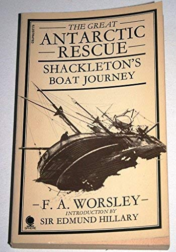 9780722192900: Great Antarctic Rescue: Shackleton's Boat Journey