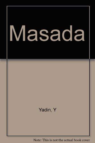 9780722193884: Masada