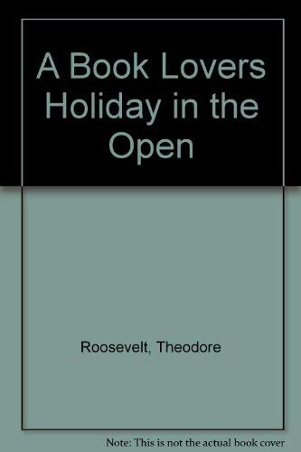 9780722243015: A Book Lovers Holiday in the Open