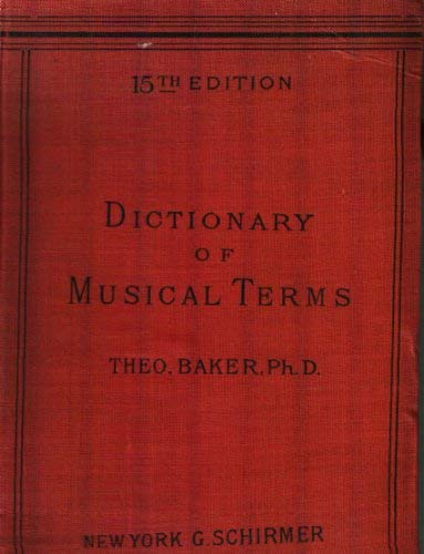 9780722250181: A Dictionary of Musical Terms