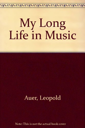 9780722253106: My Long Life in Music