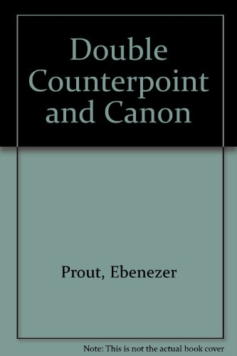 9780722257036: Double Counterpoint and Canon