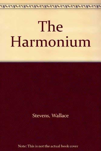 9780722259337: The Harmonium