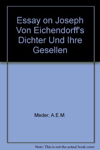 9780722312964: Essay on Joseph Von Eichendorff's